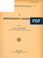 Vallo Mehtenyesztes Vezerfonala