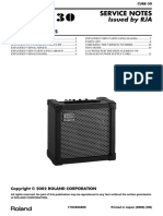 ROLAND - CUBE-30 Service Notes