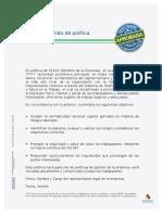 ANEXO 2. Modelo de Politica SG SST