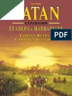 Catan Barbarians Almanac