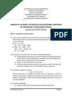 Unidad III. Alcanos, Estudio de Reacciones, Metodos de Obtencion y Reacciones Tipicas.
