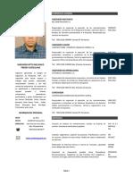 CV Ing. Freddy Castellano 2015