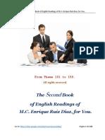 The Second Book of English Readings of M.C. Enrique Ruiz Díaz
