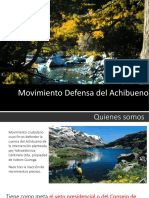 Presentación #AchibuenoResiste