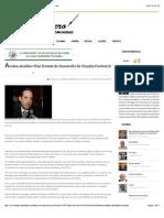 18-12-15 Avalan Alcaldes Plan Estatal de Desarrollo de Claudia Pavlovich