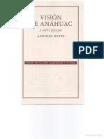 Vicion de Anahuac Roto