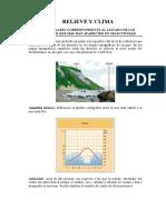 vocabulario gráfico geografía de España
