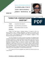 Taller de Cine Juridico - Tim Burton