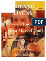 Roland Dyens - Deux Hommages a Marcel Dadi
