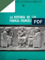 Dibelius, Martin - La Hsitoria de Las Formas Evangelicas