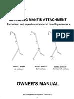 09 27 13 assembled mantis owner manual rev 3