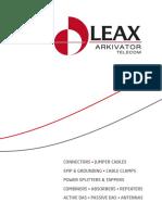 Leax Arkivator Telecom Catalogue 2014 (2)