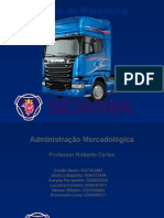 Um Plno de Marketing para a Scania