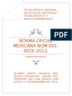Norma Oficial Mexicana Nom