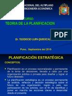 Teoria de La Planificacion 2015