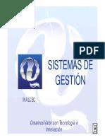 Presentación Sistemas de Gestión - Inalcec