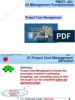 PMGT401-07 Project Cost Management-04