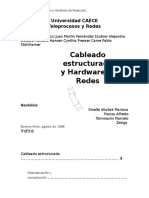 Cableado Estructurado y Hardware de Redes
