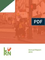 LURN 2015 Annual Report