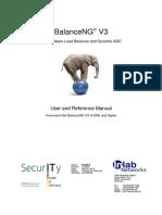 BalanceNG V3 Manual