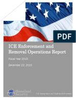 ICE Enforcement and Removal Operations Report