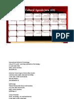 Delft Cultural Agenda June 2015