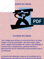 11 Clase Flexion en Vigas