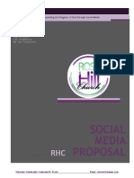 rose hill church social media proposal