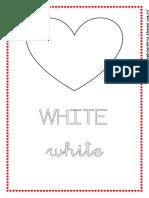 Flashcards Colours (Saint Valentine)