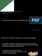 Unidad 5 procedimientos clinicos en protesis dental