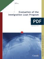 Immigration loan program
