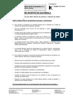 Cómo Invertir en Guatemala