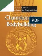 Chris Aceto - Championship Bodybuilding