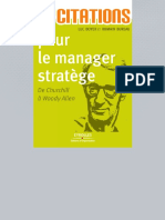 400 Citations Pour Le Manager Strat 232 Ge de Churchill 224 Woody Allen
