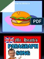 hamburger paragraph powerpoint
