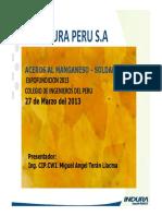 ACEROS AL MANGANESO  SOLDABILIDAD CIP 2013.pdf