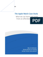 Apple Watch Case Study