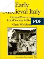 Wickham_L'Italia Nel Primo Medioevo. Potere Centrale e Societa Locale (400-1000)