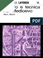 Bloch_Lavoro e Tecnica Nel Medioevo (1959)