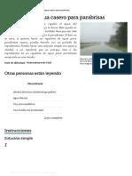 Repelente de Agua Casero Para Parabrisas _ EHow en Español