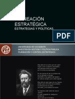 Estrategias y Politicas de La Planeacion Estratégica (1)