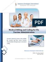 Medical Billing and Coding for Flu Vaccine Administration