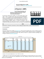 Anaerobic Baffled Reactor (ABR)