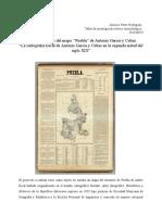 Proyecto de Investigación Antonio García y Cubas