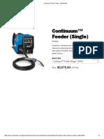 Continuum™ Wire Feeder - MillerWelds jb