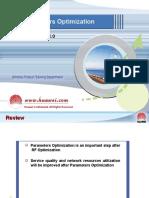 10 Parameter Optimisation HW