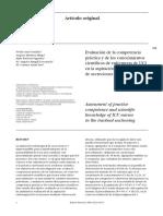 Evaluación de La Competencia Práctica y de Los Conocimientos Científicos de Enfermeras de UCI en La Aspiración Endotraqueal de Secreciones