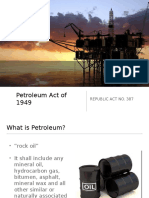 Petroleum Act
