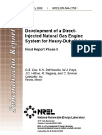 Development of a Direct-Injected Natural Gas System