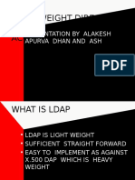 Ldap Light Weight Directory Access Protocol
